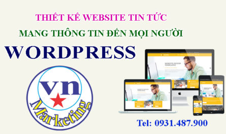 thiet ke website wordpress