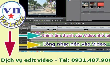 dieu chinh am thanh audio long nhac video