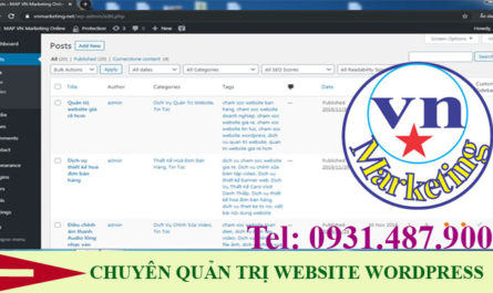 quan tri website wordpress